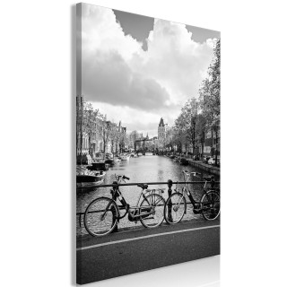 Πίνακας - Bikes On Bridge (1 Part) Vertical
