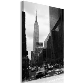 Πίνακας - Street in New York (1 Part) Vertical