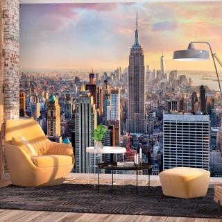 Αυτοκόλλητη φωτοταπετσαρία - Sunny Metropolis