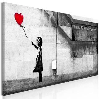 Πίνακας - There is Always Hope (1 Part) Narrow Red