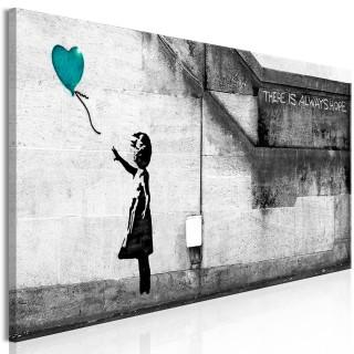 Πίνακας - There is Always Hope (1 Part) Narrow Turquoise