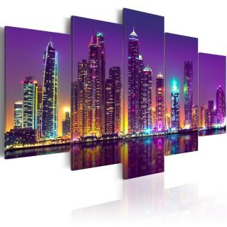 Πίνακας - Purple Nights