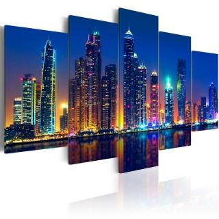 Πίνακας - Nights in Dubai