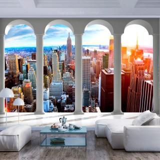 Φωτοταπετσαρία - Pillars and New York