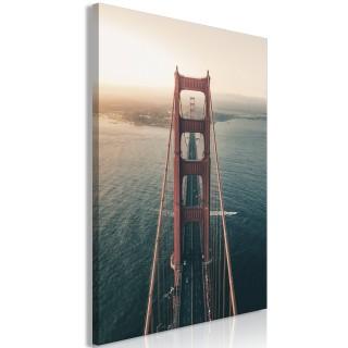 Πίνακας - Golden Gate Bridge (1 Part) Vertical