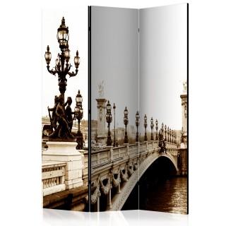 διαχωριστικό με 3 τμήματα - Alexander III Bridge, Paris [Room Dividers]