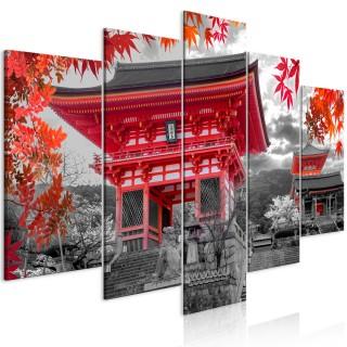 Πίνακας - Kyoto, Japan (5 Parts) Wide