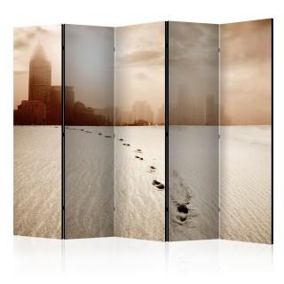 διαχωριστικό με 5 τμήματα - A path to a big city II [Room Dividers]