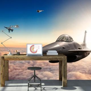 Φωτοταπετσαρία - F16 Fighter Jets