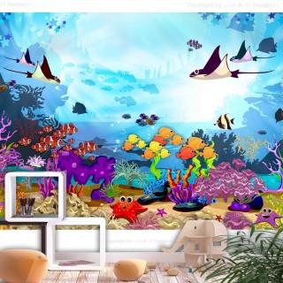Αυτοκόλλητη φωτοταπετσαρία - Underwater Fun