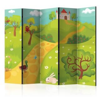 διαχωριστικό με 5 τμήματα - A path to a magical castle II [Room Dividers]
