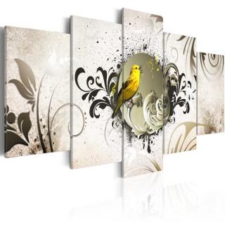 Πίνακας - Yellow bird