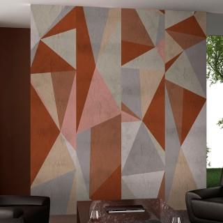 Φωτοταπετσαρία - Triangles - composition