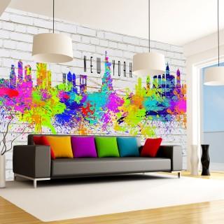 Φωτοταπετσαρία - Colors of New York