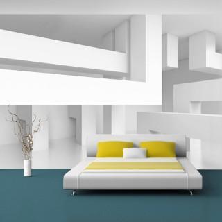 Αυτοκόλλητη φωτοταπετσαρία - Alabaster maze