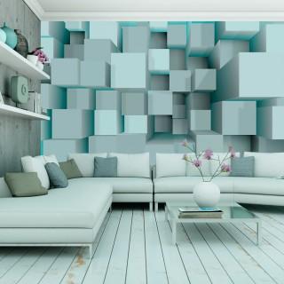 Φωτοταπετσαρία - Blue puzzle