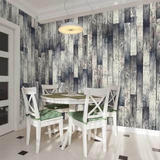 Φωτοταπετσαρία - Wooden floor: gradient