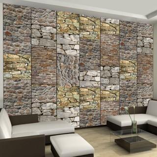 Φωτοταπετσαρία - Puzzle with stones