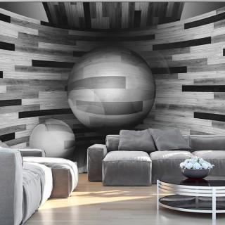 Φωτοταπετσαρία - Gray sphere