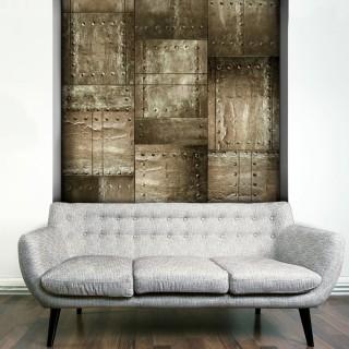 Φωτοταπετσαρία - Brass mosaic