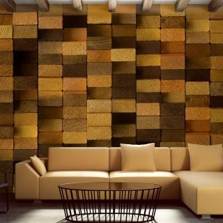 Φωτοταπετσαρία - Wooden Wall