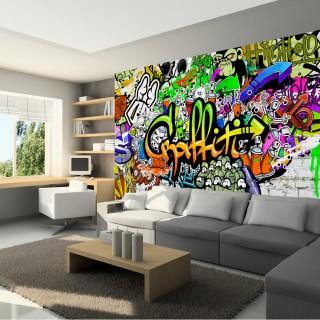 Φωτοταπετσαρία - Graffiti on the Wall