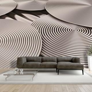 Φωτοταπετσαρία -  Copper Spirals