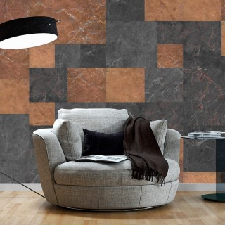 Φωτοταπετσαρία -  Marble Mosaic