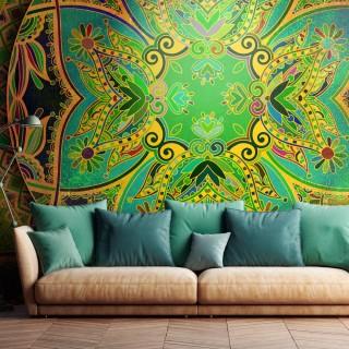 Φωτοταπετσαρία - Mandala: Emerald Fantasy