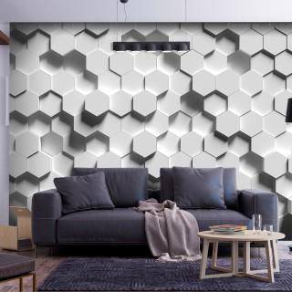 Αυτοκόλλητη φωτοταπετσαρία - Hexagonal Awareness