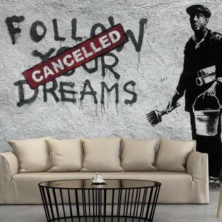 Φωτοταπετσαρία - Dreams Cancelled (Banksy)