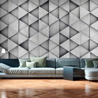 Φωτοταπετσαρία - Grey Triangles