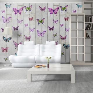 Φωτοταπετσαρία - Butterflies and Concrete