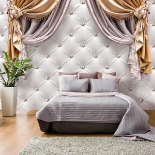 Αυτοκόλλητη φωτοταπετσαρία - Curtain of Luxury