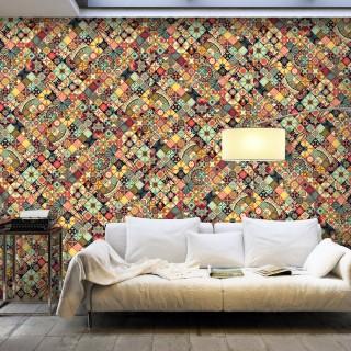 Ταπετσαρία XXL - Rainbow Mosaic