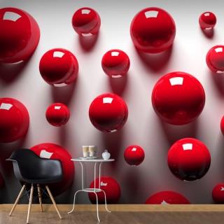 Φωτοταπετσαρία - Red Balls