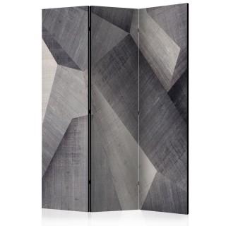 διαχωριστικό με 3 τμήματα - Abstract concrete blocks [Room Dividers]