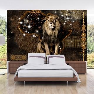Αυτοκόλλητη φωτοταπετσαρία - Golden Lion