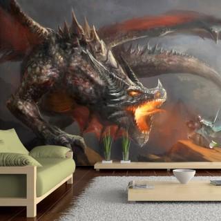 Αυτοκόλλητη φωτοταπετσαρία - Dragon fire