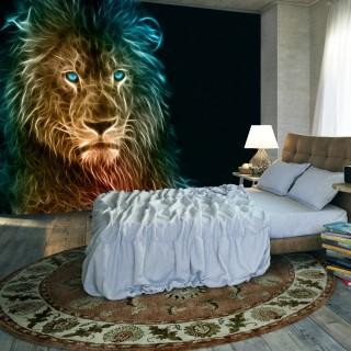 Αυτοκόλλητη φωτοταπετσαρία - Abstract lion