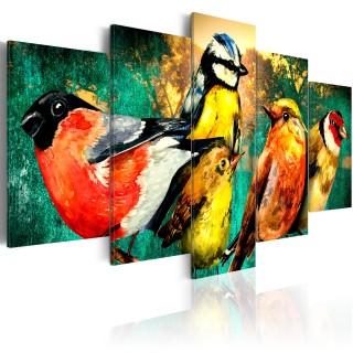 Πίνακας - Birds Meeting