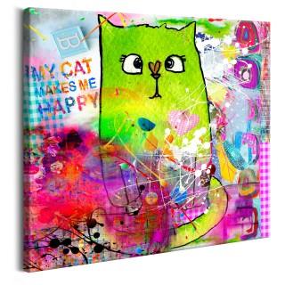Πίνακας - Crazy Cat