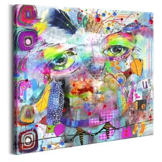 Πίνακας - Colourful Owl