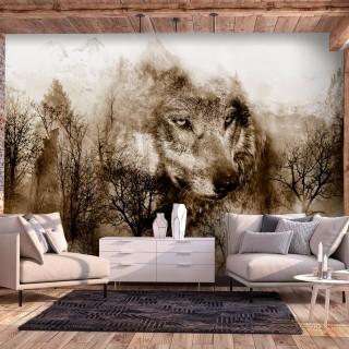 Φωτοταπετσαρία - Mountain Predator (Brown)