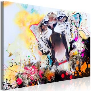 Πίνακας - Tiger's Roar (1 Part) Wide