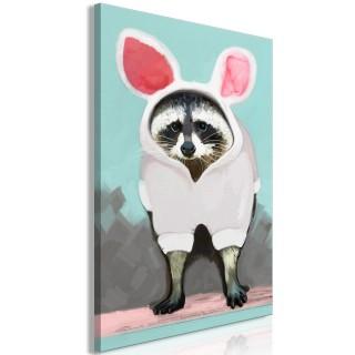 Πίνακας - Raccoon or Hare? (1 Part) Vertical
