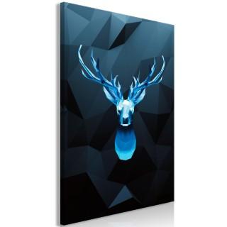 Πίνακας - Ice Deer (1 Part) Vertical