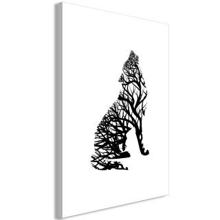 Πίνακας - Wolf Trail (1 Part) Vertical