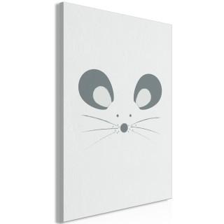 Πίνακας - Curious Mouse (1 Part) Vertical