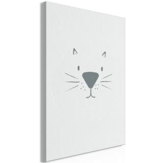Πίνακας - Cat's Face (1 Part) Vertical
